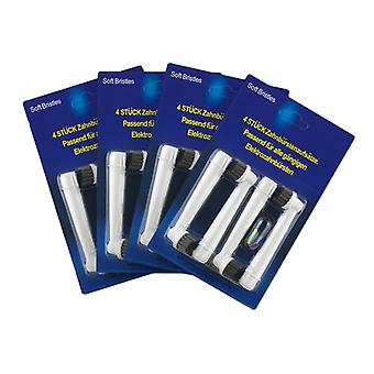 Oral-B compatible toothbrush heads-16x Precision Clean