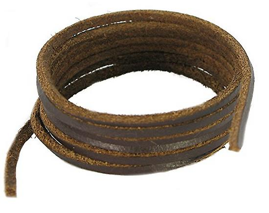 Dark Brown Leather Lace