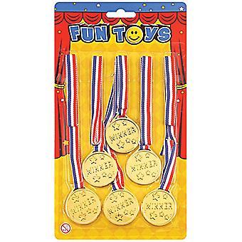 Winnaars medailles (6 Per kaart)