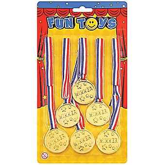 Winners Medals (6 Per Card)