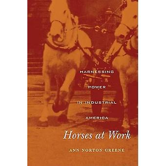 Horses at Work - Harnessing Power in Industrial America by Ann Norton
