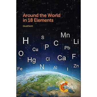 Around the World in 18 elementen door David Scott - 9781849738040 boek