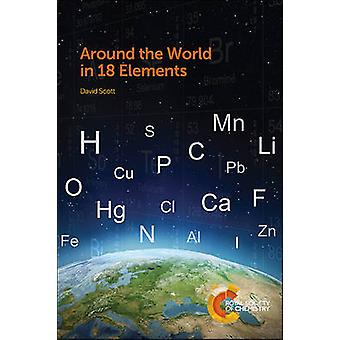 Maailman 18 Elements David Scott - 9781849738040 kirja