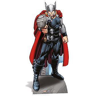 Thor Lifesize cartolina recorte / cartaz / stand-up - Marvel os Vingadores Super herói