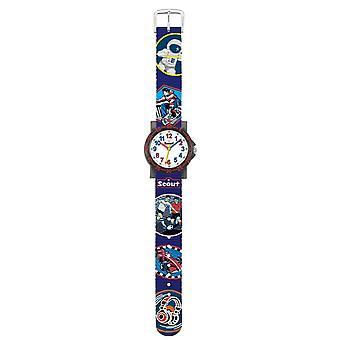 Scout kind horloge leren IT-collectie - sleepwagen jonge 280375018