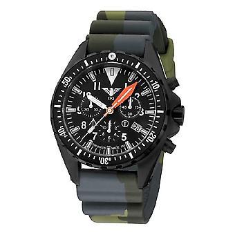 KHS MissionTimer 3 OT heren horloge horloges Chronograaf KHS. MTAOTC. DC3