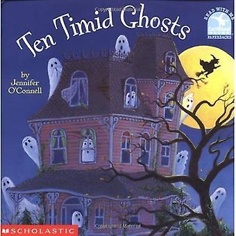 Dez tímidos fantasmas (leia comigo Cartwheel livros (Paperback Escolástica))