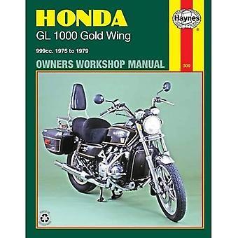 Honda Gl1000 Gold Wing Owners Workshop Manual, 1975-1979