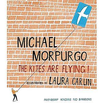 De vliegers vliegen!