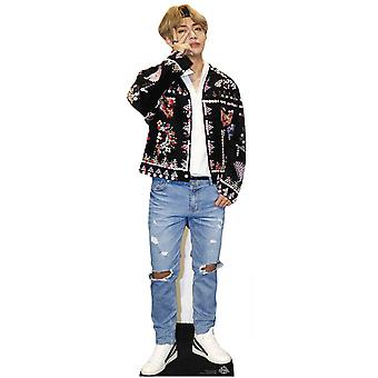 V from BTS Bangtan Boys Mini Cardboard Cutout / Standee / Standup