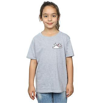 Disney Girls Marie Aristogatti Backside dolce seno stampa t-shirt