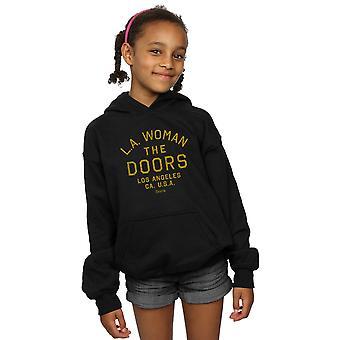 The Doors Girls LA Woman Text Hoodie