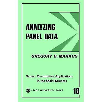 Analysere paneldata av Gregory B Markus
