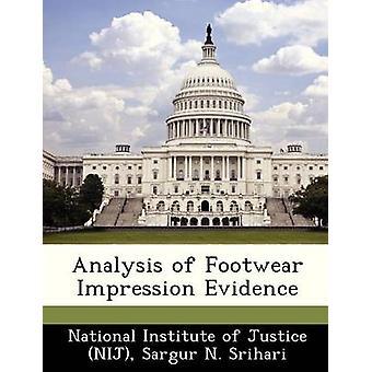 Analyse van schoeisel indruk bewijs door nationale Instituut van Justitie NIJ