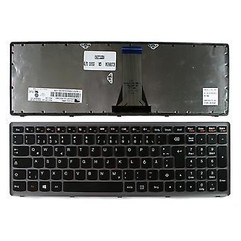 لينوفو إيديباد S500 رمادي الإطار الأسود ويندوز 8 تخطيط الألمانية استبدال لوحة المفاتيح المحمول