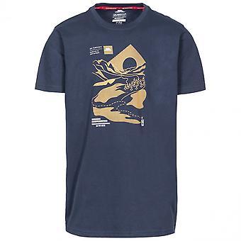 Hausfriedensbruch Mens Landschaft Kurzarm Graphic T-Shirt
