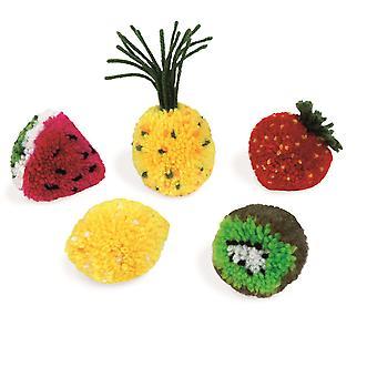 Janod Fruit Pompoms