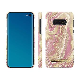 iDeal Of Sweden Samsung Galaxy S10E - Golden Blush Marble