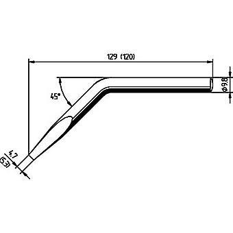 Ersa 152JD Soldering tip Chisel-shaped, angled, ERSADUR Tip size 5.3 mm Content 1 pc(s)