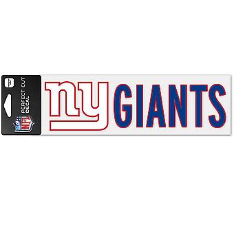 Wincraft decal 8x25cm - NFL New York Giants