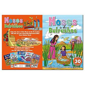 Bible Sticker Book - Moses in the Bullrushes - 9781783731152 Book