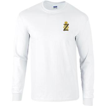 13ème 18ème Royal Hussars - Licensed British Army Embroidered Long Sleeved T-Shirt