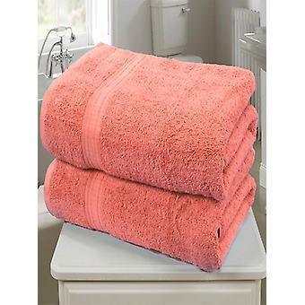Royal Kensington 2 stuk handdoek Bale koraal