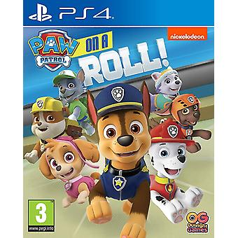 Paw Patrol On A Roll! PS4 Game