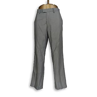 Calvin Klein Pants 29 Straight Leg Front Zip w/ Pockets Gray