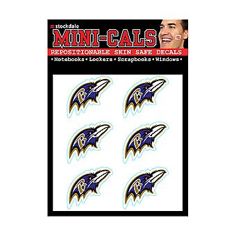 Wincraft 6 Ers Face Sticker 3cm - NFL Baltimore Ravens