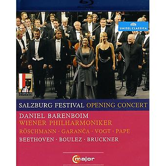 2010 Salzburg Festival Opening Concert [BLU-RAY] USA import