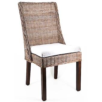 Wellindal Rotin Chair Aine With Cushion 50X50X96 (Furniture , Chairs , Chairs)