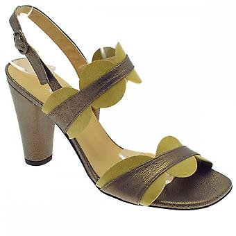 Audley Green Women's High Heel Ankle Strap Sandal