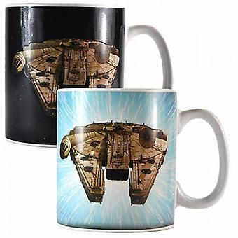 Millennium Falcon Star Wars Heat Change Mug