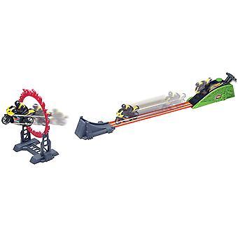 Motormax Daredevil ring van brandweer racer set
