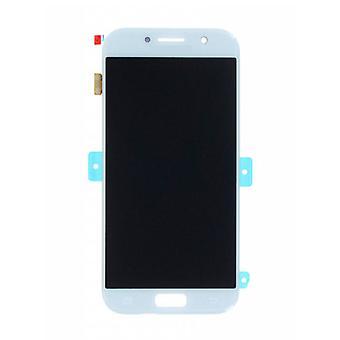 Stuff gecertificeerd® Samsung Galaxy A5 2017 A520 scherm (touch screen + AMOLED + onderdelen) AAA + kwaliteit-blauw