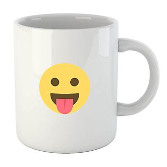 Tongue Out Face Mug