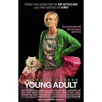 Junge Erwachsene Poster doppelseitig regelmäßig (2012) Original Kino Poster