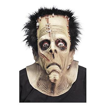 Mens Frankenstein Monster Mask Halloween Fancy Dress Accessory