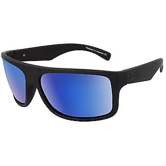 Dirty Dog Anvil Satin Sunglasses - Black/Blue