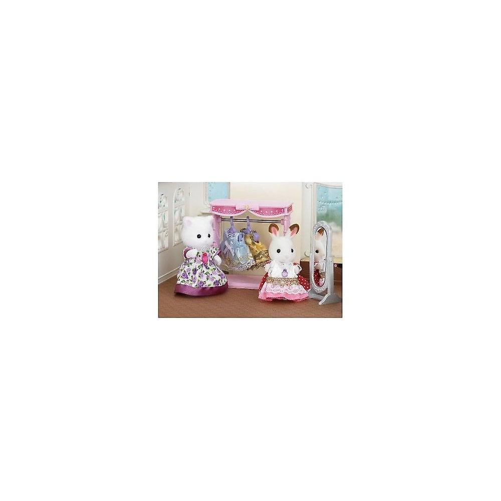 Sylvanian Families - Dressing Area Set - Chocolate Rabbit