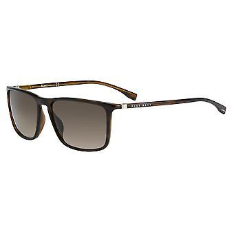 Hugo Boss 0665/N/S 086/HA Dark Havana/Brown Gradient Sunglasses