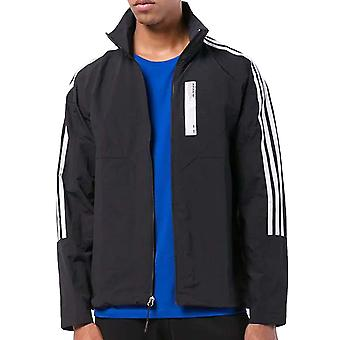 adidas Originals Mens NMD Track Active Long Sleeve Zip Up Casual Jacket - Black