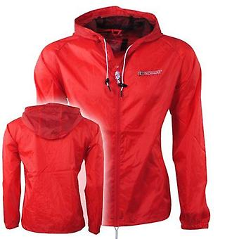 Geographical norway men's baxter windbreaker jacket red