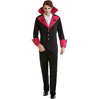 Virile Vampire Erwachsenen Kostüm, XL
