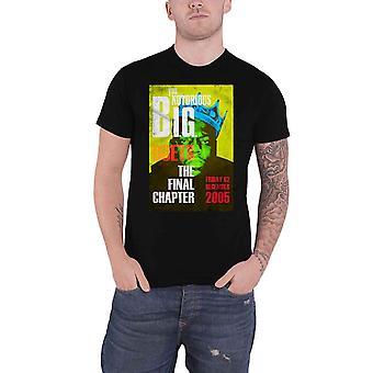 Biggie Smalls T Shirt Düetler Son Bölüm Notorious BIG Resmi Erkek Siyah