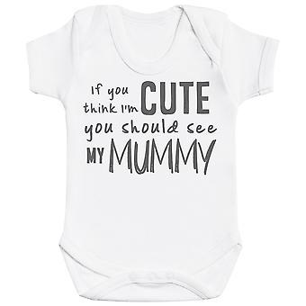 Jeśli uważasz, że i&apos,m Cute Powinieneś zobaczyć moja mama body baby