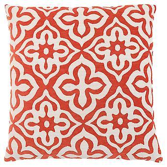 "18"" x 18"" Orange, Motif Design - Pillow"