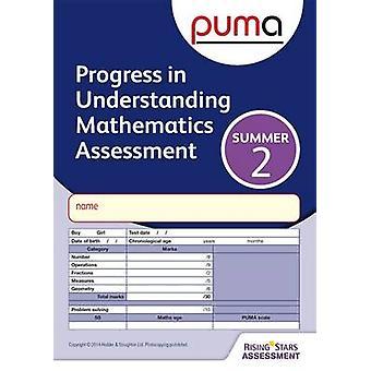 PUMA Test 2 Summer Pk10 Progress in Understanding Mathemat by Colin McCarty