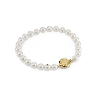 Yana Nesper Women's Bracelet 750gg Akoya white 6.5-7mm 19cm Akoya Premiums